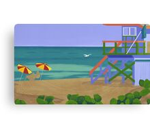 South Beach Canvas Print