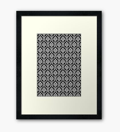 Wallpaper Black Framed Print