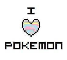 I Heart(Scale) Pokemon by livikun