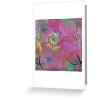 Pink Spice Greeting Card