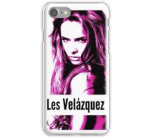 Les Velázquez Pink touch iPhone Case/Skin
