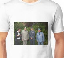 Czechs attend a service at St George's RAF Chapel in Biggin Hill, Kent Unisex T-Shirt