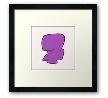 Nui Harime Eye Patch Framed Print