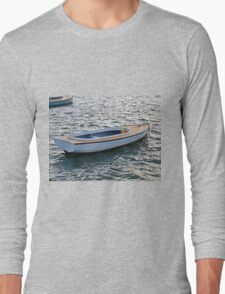 One White Boat Long Sleeve T-Shirt