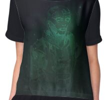 Mass Effect - Thane Krios Chiffon Top