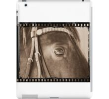 Eyes are the window to the soul iPad Case/Skin