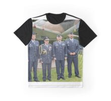 Czechs Petr Tomanek, General Emil Bocek, Jaromir Sebesta and Petr Cepelka attend a service at St George's Chapel in Biggin Hill, Kent  Graphic T-Shirt