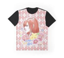 Kairi Kingdom Hearts Inspired Print  Graphic T-Shirt
