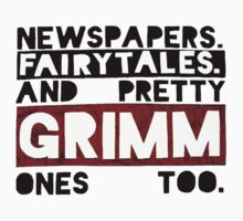 Newspapers. Fairytales. by Chloe Plumley