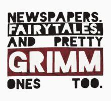 Newspapers. Fairytales. by chloeplumley