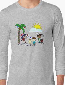 Christmas in July tshirt Long Sleeve T-Shirt