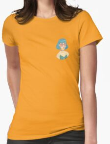 Pastel watercolour OC gal Womens Fitted T-Shirt