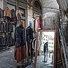 The Mirror - Johnny's ... Florence,  Italy by T.J. Martin