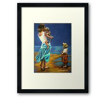 """""""By The Beautiful Sea"""" Framed Print"""