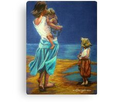 """By The Beautiful Sea"" Canvas Print"
