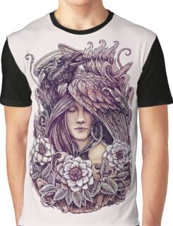 Crow Graphic T-Shirt