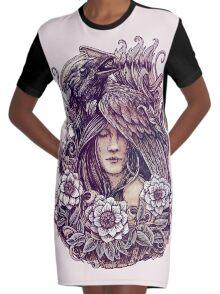 Crow Robe t-shirt