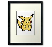Pikachu Pokemon Yellow Edition Framed Print