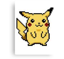 Pikachu Pokemon Yellow Edition Canvas Print