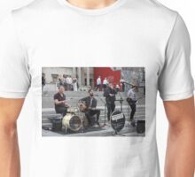 Keywest performs at the Mayor of London Sadiq Khan Launch of International Busking Day Unisex T-Shirt
