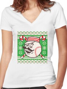Christmas in July 2016  tshirt  Women's Fitted V-Neck T-Shirt