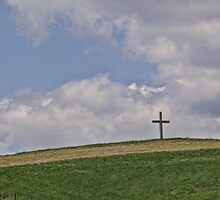 On a hill far away stood an old rugged cross by vigor