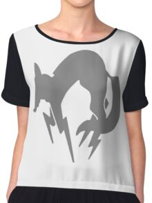 Metal Gear Fox Unit Chiffon Top