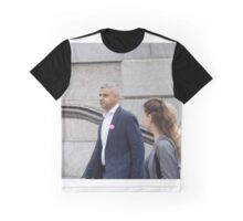 Mayor of London, Sadiq Khan Graphic T-Shirt
