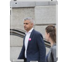 Mayor of London, Sadiq Khan iPad Case/Skin