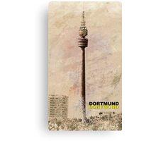 Dortmund TV Tower Florianturm Canvas Print