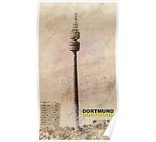 Dortmund TV Tower Florianturm Poster