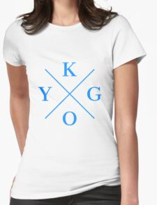 Kygo Blue Womens Fitted T-Shirt