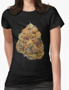 Blue Dream Bud Womens Fitted T-Shirt