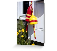 Buoys By The Door Greeting Card