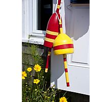 Buoys By The Door Photographic Print