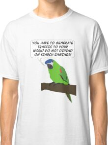 Traffic Parrot Classic T-Shirt