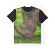 Southern White Rhinoceros Graphic T-Shirt