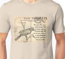 Why the caged bird sings Unisex T-Shirt