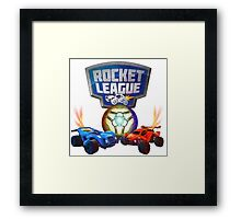 Rocket League Framed Print