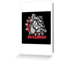 Bulldogs Logo Greeting Card