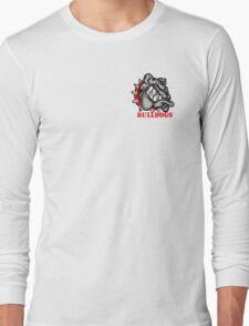 Bulldogs Logo Long Sleeve T-Shirt