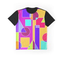 Circle Squares Graphic T-Shirt