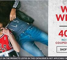 Jabong Wicked Weekend - 40% off, No minimum cart value by couponvala