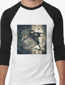 Sepia stain Men's Baseball ¾ T-Shirt