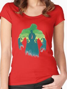 Design lilmited tshirt, H.U.L.K Women's Fitted Scoop T-Shirt