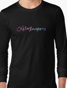 The Chainsmokers Blue Violet Long Sleeve T-Shirt
