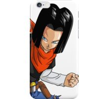 Android 17 - Dragon Ball Z iPhone Case/Skin