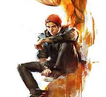 Infamous Second Son - Delsin Rowe by shurgio