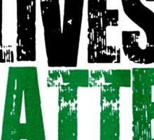 black lives tshirt Sticker