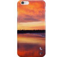 Sunset seagull iPhone Case/Skin